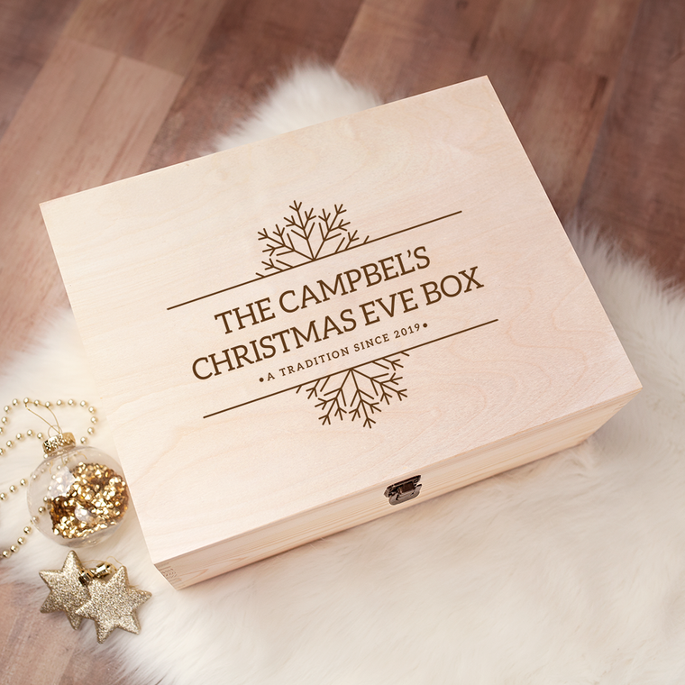 Engraved Christmas Eve Box - Design 21