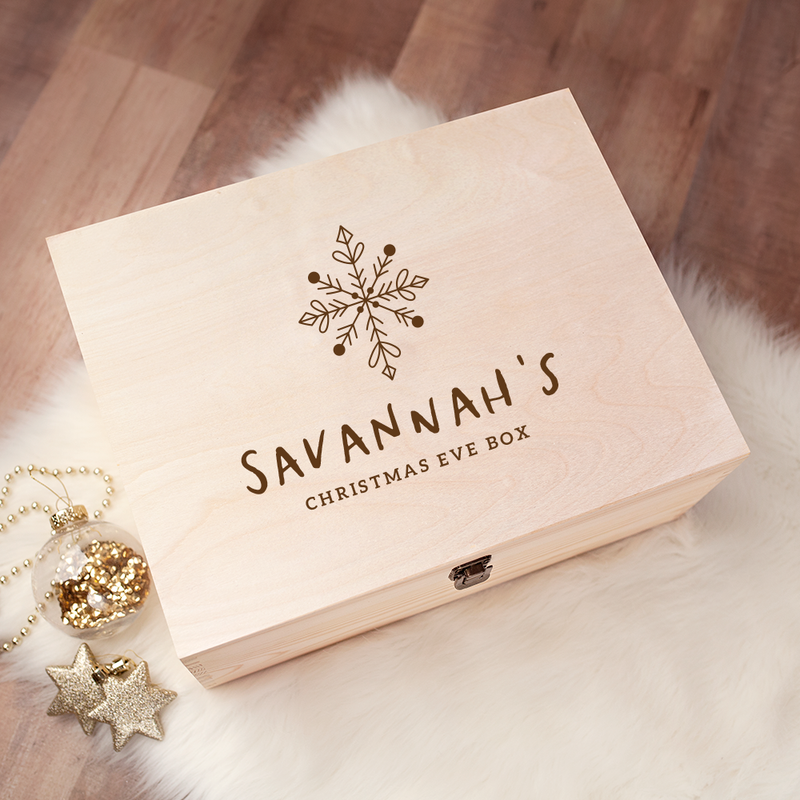 Engraved Christmas Eve Box - Design 25
