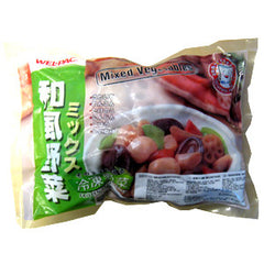*<!--403-->WELPAC<br>Mixed vegitable<br>454g|WELPAC<br>和風野菜ミックス<br>454g<br><br><small>簡単に煮物が作れます。</small>