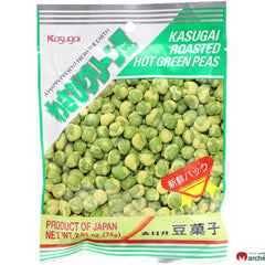 Kasugai<br>Wasabi green peas<br>74g|春日井<br>わさびグリーン豆<br>74g<br><br><small>ピリッが癖になる。</small>