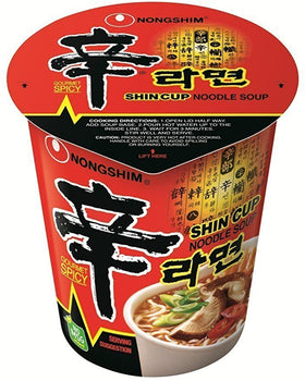 NONGSHIM<br>辛ラーメン (カップ)<br>68g<br><br><small>韓国独特の家庭の味。</small>