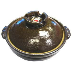 Japanese traditional Pot<br>size8-1|土鍋<br>8号-1 (3~4人分)