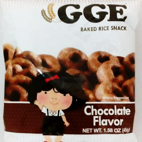 JFC(UK)<br>GGE Baked rice snack Chocolate flavor<br>45g|JFC<br>GGE スナック チョコレート味<br>45g