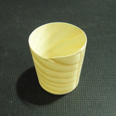 Wooden Used Cup Type Container 4.5 × 4.5cm ( 50 )|木製 使い切り容器<br>カップ型 4.5×4.5cm <br>(50枚)