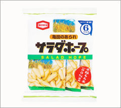 Kamada Salad Hope Rice crackers 6 packets|亀田<br>サラダホープ<br>6パック