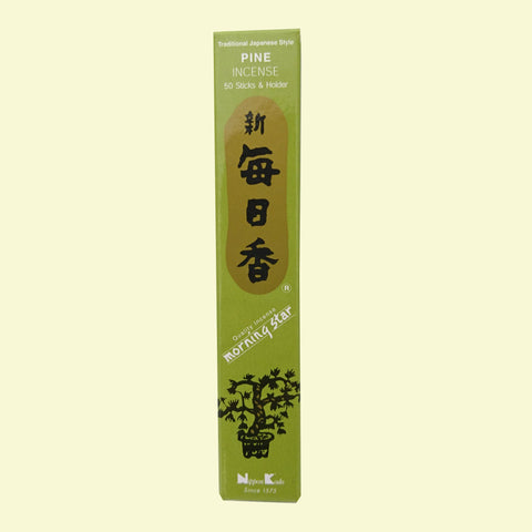 <!--003-->Nippon Kodo <br>New daily incense PINE<br>50 Sticks|日本香堂<br>新毎日香 パイン<br>50本<br><br><small></small>