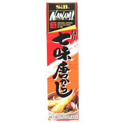 S&B<br>Japanese Style Chili Paste<br>43g |S&B<br>ねり七味がらし<br>43g<br><br><small>便利なチューブタイプ。</small>