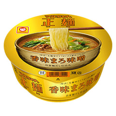 Maruchan<br>Seimen noodle Miso<br>111g|マルちゃん<br>正麺 香味まろ味噌<br>111g<br><br><small>麺がうまい。</small>