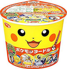 <!--129-->Sapporo<br>Pokemon Noodle Soy sauce flavour<br>38g|サッポロ一番<br>ポケモンヌードル しょうゆ味<br>38g<br><br><small>お子様向け。</small>