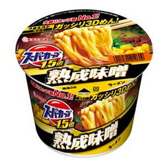<!--134-->Acecook Supercup Miso flavour 136g|エースコック<br>スーパーカップMAX!!<br>熟成味噌 136g