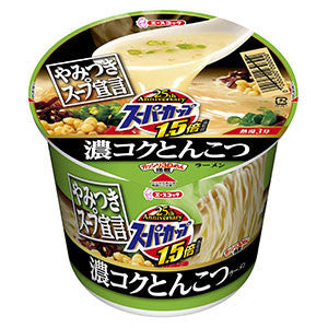 <!--135-->Acecook Super Cup Pork flavour 120g|エースコック<br>スーパーカップ1.5倍<br>濃コクとんこつ 117g