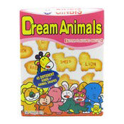 Ginbisu Dream Animals Butter Flavoured Bicuits 37g|ギンビス たべっ子どうぶつ バター味<br>37g