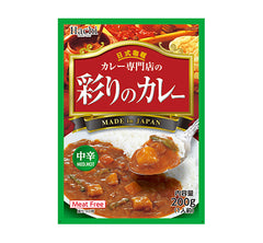 <!--060-->Hachi<br>Curry Sauce  Mild Hot<br>200g|ハチ食品<br>彩りのカレー 中辛<br>200g<br><br><small>カレー専門店</small>