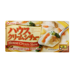 <!--120-->House<br>Foods House Cream Stew<br>140g |ハウス<br>クリームシチュー<br>140g<br><br><small>旨みのあるご飯にあうシチュー。</small>
