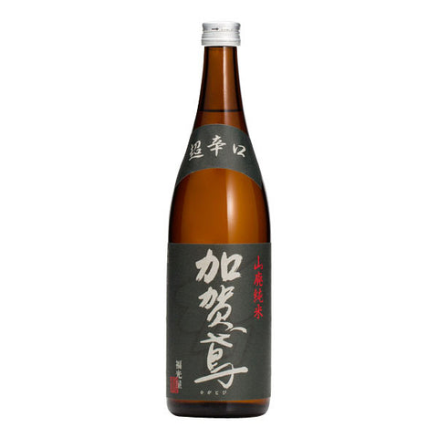 <!--142-->Kagatobi<br>Yamahai junmai Super Dry<br>Japanese rice wine<br>720ml|加賀鳶 <br>超辛口 山廃吟醸<br>720ml