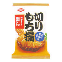 Kameda<br>Kirimochiage Rice Cracker<br>100g|亀田製菓<br>切りもち揚<br>100g<br><br><small>サクッとかるーい。</small>
