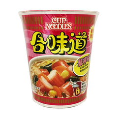 <!--107-->nissin<br>cupnoodle gomido crab<br>75g|日清<br>カップヌードル 合味道 蟹味<br>75g<br><br><small>台湾製造。</small>