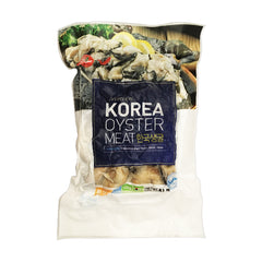 *Korean<br>Oyster<br>454g|韓国産<br>牡蠣<br>454g<br><br><small>海のミルク。</small>