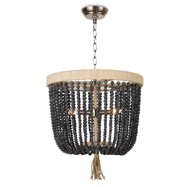 Pendant light fixture with an earthy and organic design to refresh your home.