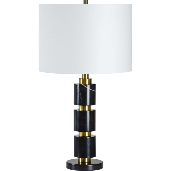 Table lamp with a modern twist on a classic design to refresh your home.