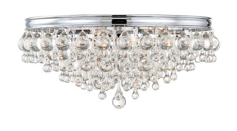 Callie 6 Light Crystal Ceiling Mount