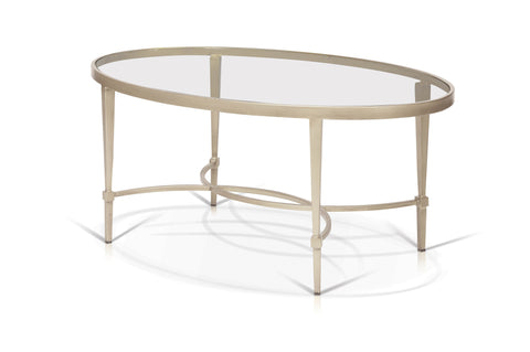 Oval Coffee Table With Shelf.Mitzi Oval Cosmopolitan Coffee Table