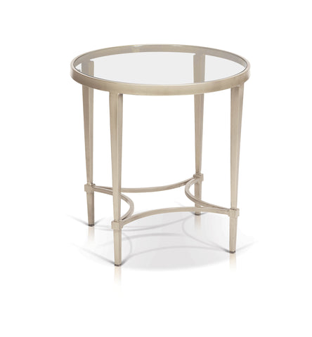 Mitzi Round Cosmopolitan End Table