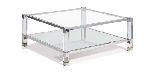 Yves Cosmopolitan Square Coffee Table