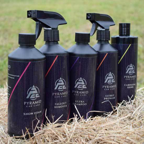 Nemesis UK Endorse New Detailing Products from Pyramid Car Care