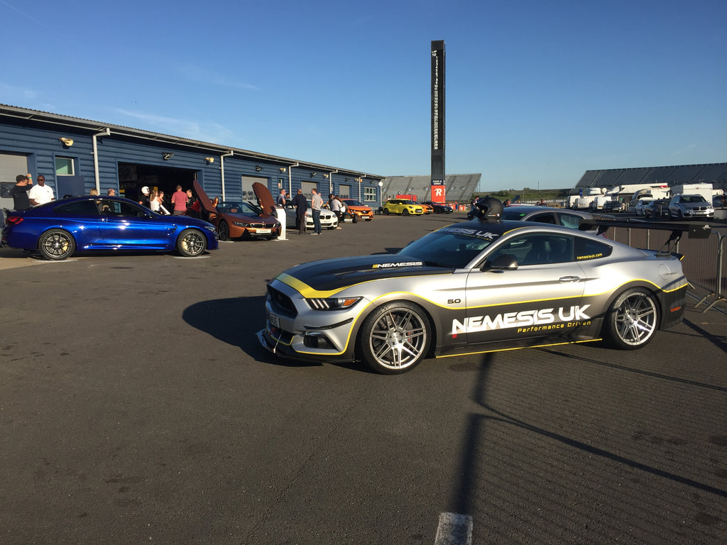SPOTTED: Project Mustang heads to Evo Magazine's Track Event