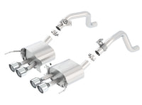 Borla Axle-Back  ATAK Performance Exhaust CORVETTE C7 2014-17 #11878