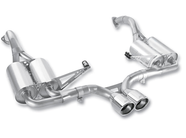 Borla Cat-Back S-Type Performance Exhaust for BOXSTER /SPYDER S (987)  2009-12 | #12659