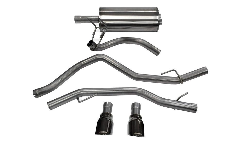 "Dodge Ram 2009-2017 4.7L & 5.7L V8 Corsa Performance Cat-Back Exhaust 3"" 14405BLKCP"