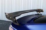 APR GTC-200 Adjustable Wing (Carbon Fibre) for Mustang 2018-20 w/ OEM Spoiler | #AS-106018