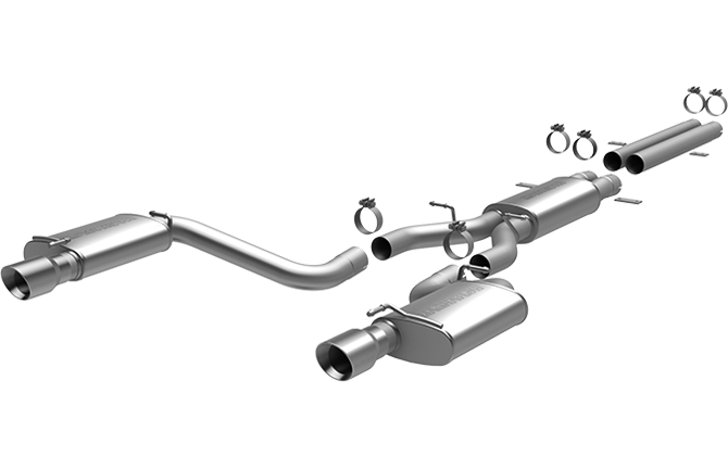 CHRYSLER 300C SRT-8 HEMI 2012-2015 6.4L V8 Magnaflow Cat-Back Exhaust 15069