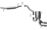 Magnaflow Cat-Back 'Sport' Exhaust for A3 Quattro 3.2L 2006-09 | #15598