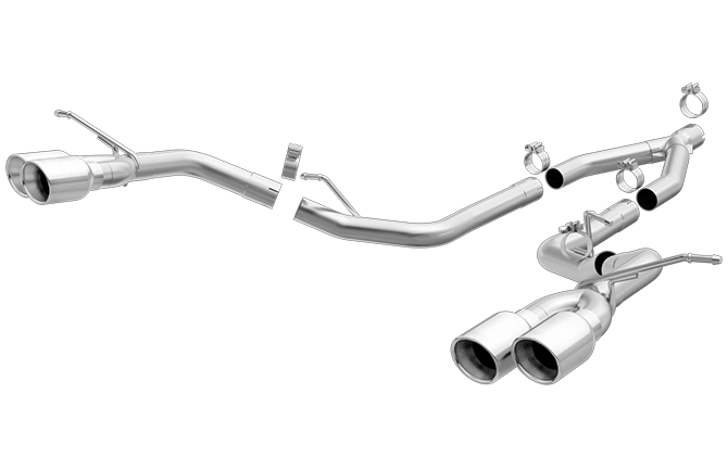 Magnaflow Cat-Back Exhaust (Chrome Tips) for Grand Cherokee 3.0L 2014-16 | #19192