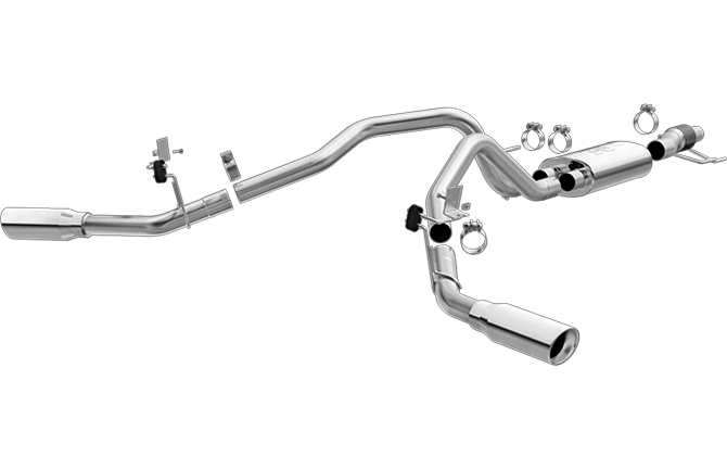 Magnaflow Cat-Back Exhaust (Polished Tips) for F-150 2.7L/3.5L 2015-16 | #19198
