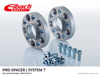 Eibach 21mm Pro-Spacer - Silver Anodized Wheel Spacer BOXSTER 1996-04 #S90-7-21-001