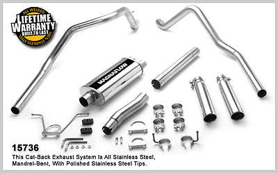 Dodge Dakota 3.9L V6 / 5.9L V8 00-03 MagnaFlow Performance Exhaust 15736