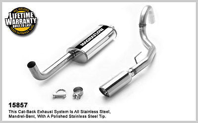 JEEP GRAND CHEROKEE 4.0L 5.2L 93-97 Magnaflow Performance Cat-Back Exhaust 15857