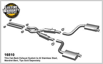 DODGE CHALLENGER SRT-8 6.1 6.4 08-14 Magnaflow Performance Street Exhaust 16510