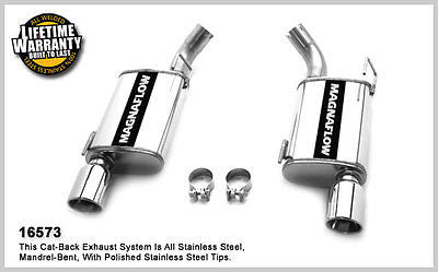 Ford Mustang GT / Shelby GT500 2010 Street Magnaflow Axle-Back Exhaust 16573