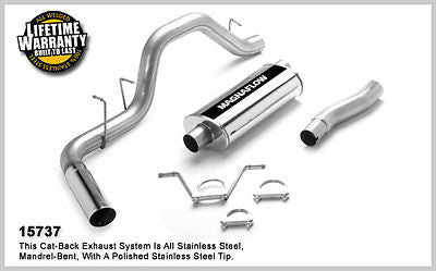 DODGE DAKOTA 3.9L 5.9L Standard Cab 00-03 Magnaflow Performance Exhaust 15737