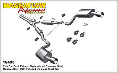 Audi A6 Quattro 2.7L 2000-04 'Touring' Cat-Back Exhaust | MAGNAFLOW #16493