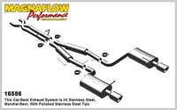 Audi S4 B6 MK2 4.2L V8 2003-2005 Magnaflow Performance Cat-Back Exhaust 16586