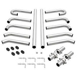 "2.5"" Custom Hot Rod Kit Pipe Bend Stainless Universal Magnaflow Exhaust 10702"