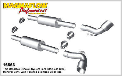 Magnaflow Cat-Back Exhaust (Polished Tips) for Dodge Viper 8.3L/8.4L 2003-10 | #16863