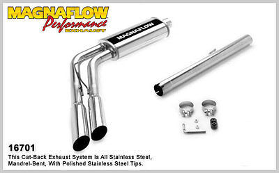 DODGE RAM 1500 5.7 V8 2006-2007 IFS Magnaflow Performance Cat-Back Exhaust 16701