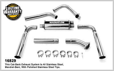Pontiac Firebird/ Chevrolet Camaro  V8 5.7L 87-92 / 5.0L 83-92 Magnaflow Cat-Back Exhaust 16829
